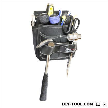 腰袋 ブラック 230×170×150mm DT-30-BK