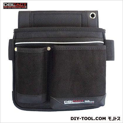 釘袋 ブラック H260×W260×D85mm DTK-09-BK