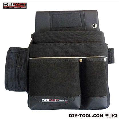 釘袋 ブラック H315×W330×D140mm DTK-11-BK