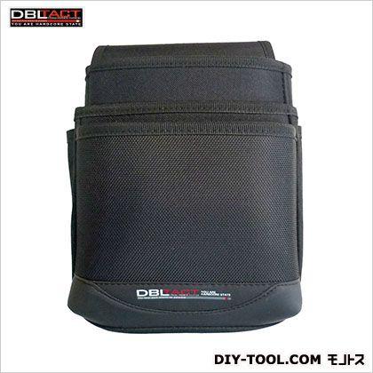 3段腰袋(大) ブラック H250×W190×D140mm DT-03-BK