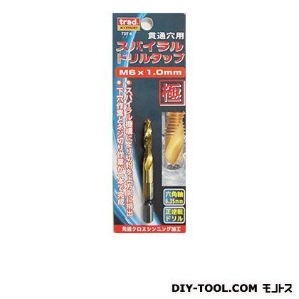 六角軸ドリルタップ  全長:70mm TDT-6