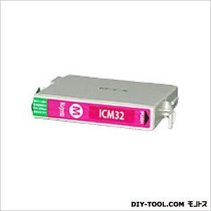 エプソンプリンタ対応インクカートリッジMIKインクマゼンタ(ICM32互換)   EP330