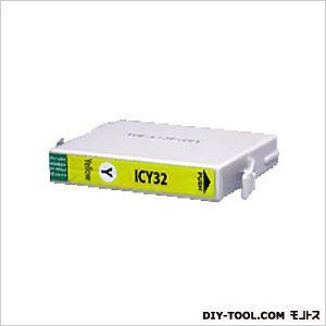 エプソンプリンタ対応インクカートリッジMIKインクイエロー(ICY32互換)   EP331