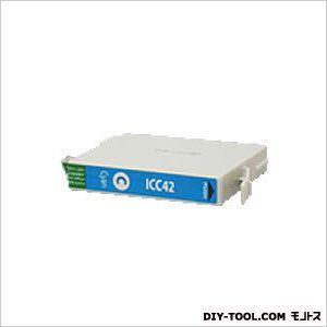 エプソンプリンタ対応インクカートリッジMIKインクシアン(ICC42互換)   EP348