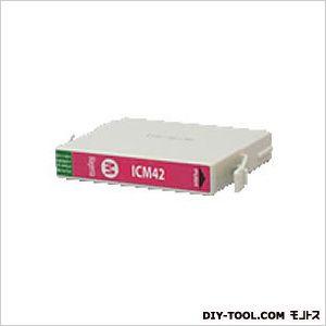 エプソンプリンタ対応インクカートリッジMIKインクマゼンタ(ICM42互換)   EP349