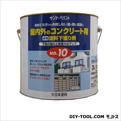 水性塗料下塗り剤 No.10  3L