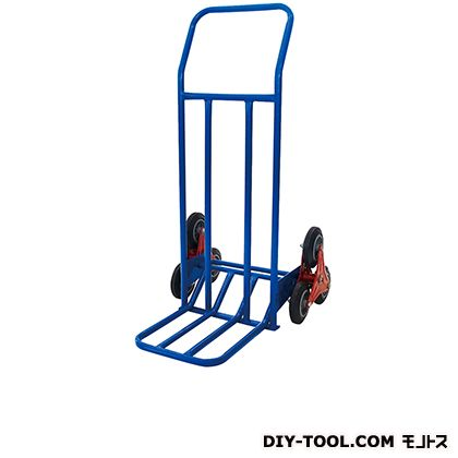 2輪運搬台車 (スチール製、階段昇降タイプ)  荷台サイズ:350×370mm HT0101N