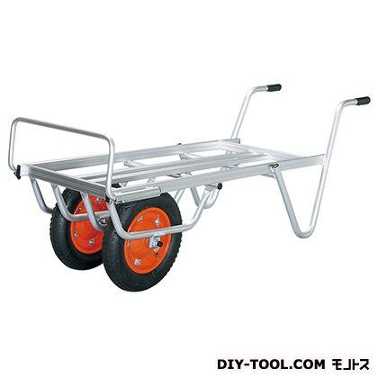 農業・園芸用運搬台車 二輪Mタイプ (アルミロング台車)  荷台サイズ:530×1110mm TC-1016