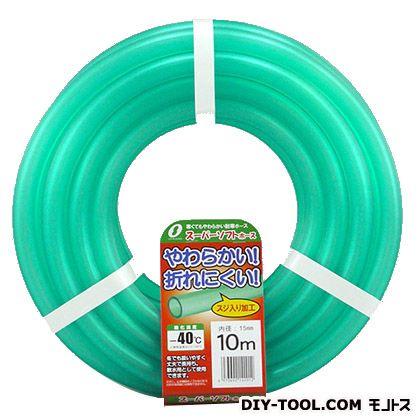 三洋化成 散水ホース スーパーソフトホース 15x20mm  10m巻 227633
