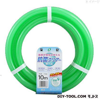 三洋化成 散水ホース 抗菌クリアーホース 15x20mm  5m巻 227622