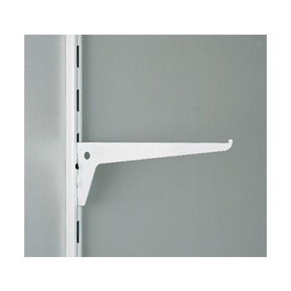 棚受 10105型 棚柱 10000型、10001型用 ホワイト  10105-00101
