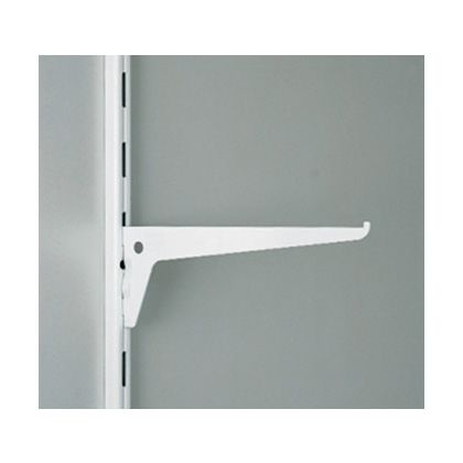 棚受 10105型 棚柱 10000型、10001型用 ホワイト  10105-00501