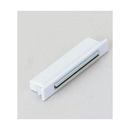薄型マグネットキャッチ MC-FS型 ワンタッチ取付 シングルヨークタイプ ホワイト (MC-FS-4SW)
