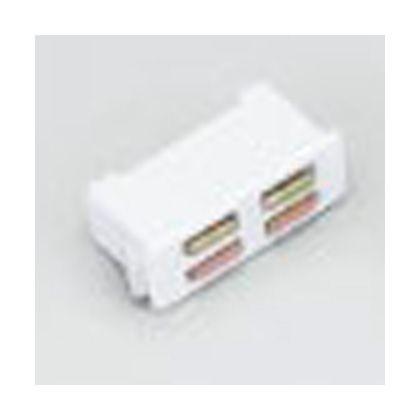 マグネットキャッチ シリーズ MC-FS型、MC-FP5型、ワンタッチ取付 ホワイト (MC-FP5W)