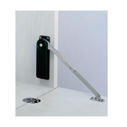 スガツネ(LAMP) ソフトダウンステー 重量扉用 HDS-10型 2本使い用 ブラック  HDS-10KR-BL
