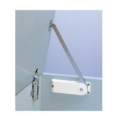 スガツネ(LAMP) ソフトダウンステー 重量扉用 HDS-20型 2本使い用 ブラック  HDS-20HR-BL