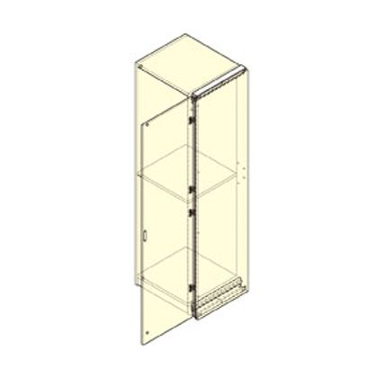 垂直収納扉金物 エクリプス 部品セット 扉幅500~700、扉高さ1900~2199 左用   BS-EC-55AMD2200SU