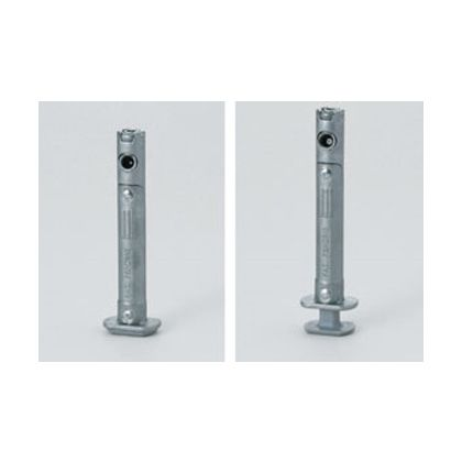 小口埋込型アジャスター IT6520型 グレー  IT6520-105