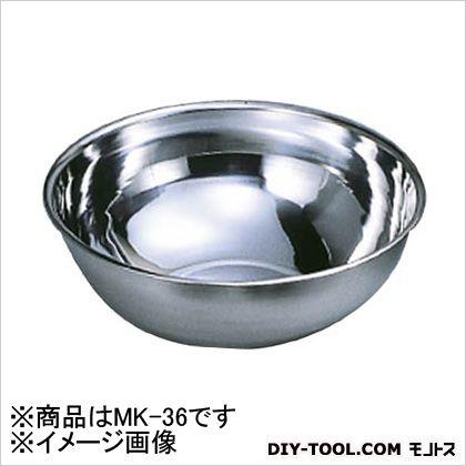 ミキシングボール 18-8  36cm 12L MK36 1 個