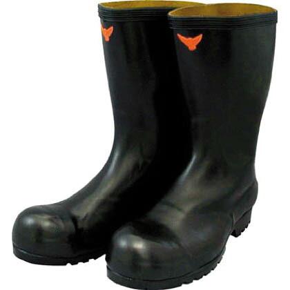 安全耐油長靴(黒) (SB021-28.0) (×1)   SB02128.0