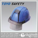 Helmet with shield lens トーヨーセフ tea (with a styrofoam liner) Cap color: Royal Blue ( 391 F-S-C )