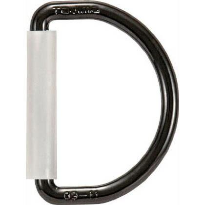 安全帯 D環 ブラック 縦×横(mm):68×50 TA-D1BK  個