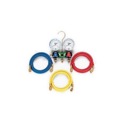 HC冷媒用ゲージマニホールドキット(R600a、R290)   TA127-1