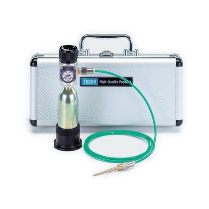 小型冷蔵庫、小型エアコンメンテナンス用携帯チッソブローキット   TA376MB