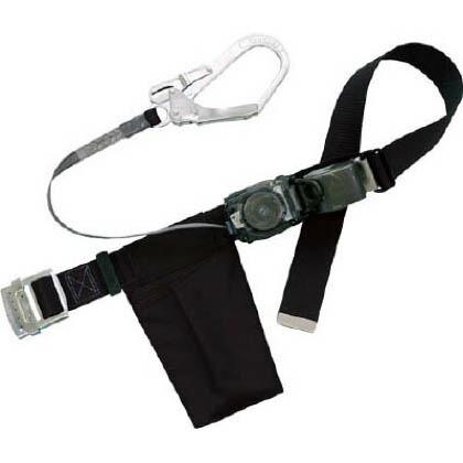 リトラ安全帯 巻取り式安全帯 胴ベルト型安全帯/1本つり専用 ブラック  RN-590-BLK-BP