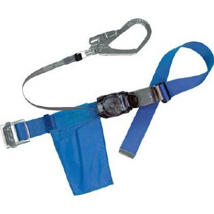 リトラ安全帯 青色 回転フック付 (RN-599K-BL4-BP )巻取り式安全帯 胴ベルト型安全帯/1本つり専用 (RN599KBL4BP)