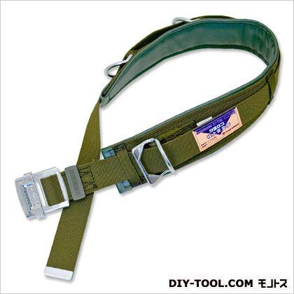 林業用安全帯 ●胴ベルト:幅45mm×長さ1,200mm  ●補助ベルト:幅85mm×長さ700mm (63D-120)