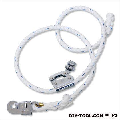 柱上作業用ランヤード ●ランヤード:織ロープ 幅16mm×有効長さ1 500mm (FC-511-BX)