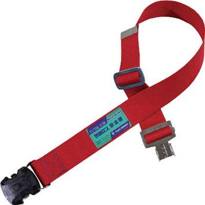 安全帯用胴ベルトのみワンタッチバックル赤色L寸   UB-SOTN-R-L-BP