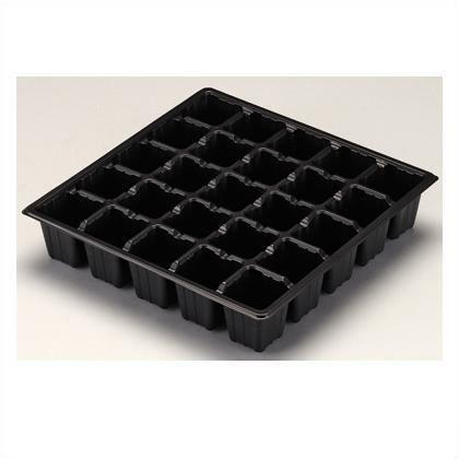 セルボックス25穴 黒 285×285×45H 10枚