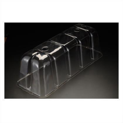 苗カバー長方形650(付属品)脚4本  681×258×254H  2 枚