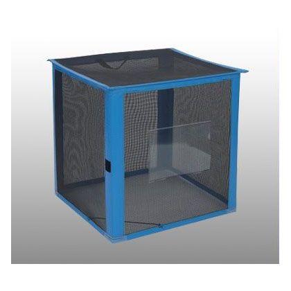 自立ゴミ枠 折りたたみ式 カラス対策商品 黒 700×700×700 340L DS-261-012-9