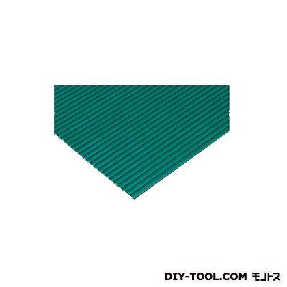 筋入ゴムマット 緑 厚さ3mm 1m巾×4m (MR-142-080)
