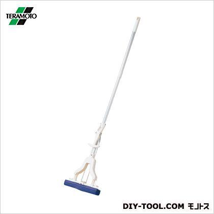 吸水スポンジモップV型  全長:最短約1040mm、最長約1410mm 幅:約28cm CL-844-600-0