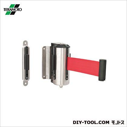 テラモト ウォールジョイントパーテーション ベルト 赤 スタート部:約W100×D116×H177mm キャッチ部:約W28×D22×H170mm ベルト長さ:1.7m SU-661-100-2
