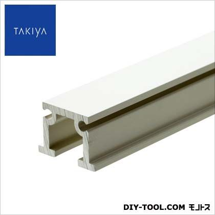TAKIYA 天井面 壁面 兼用 先付後付兼用 ピクチャーレール コレダーライン 穴なし ホワイト 200×1.45×2cm C-1