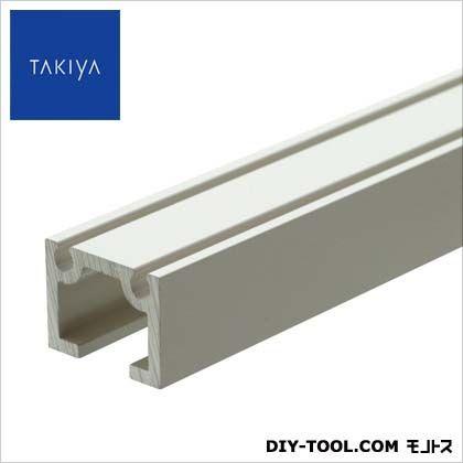 TAKIYA 天井面 壁面 兼用 後付専用 ピクチャーレール コレダーライン ホワイト 200×1.4×1.8cm C-5A