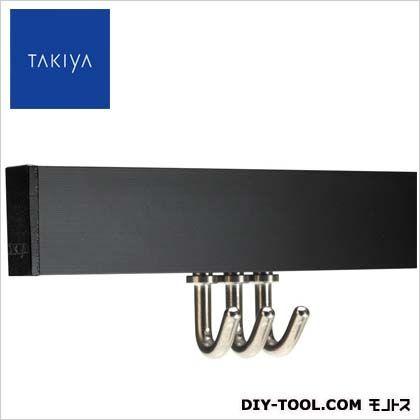ピクチャーレールセット コレダーライン セット ブラック 200×1.8×0.8cm (G-2)