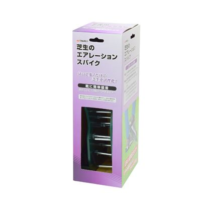 TAKAGI 芝生のエアレーションスパイク  H340×W110×D140(mm)