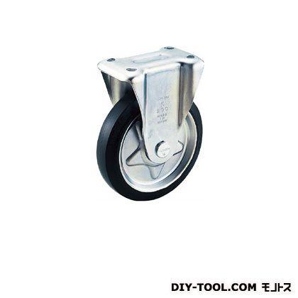 東洋スチール プレス製ゴムキャスター固定金具付150パイ   TK-150C 1 個