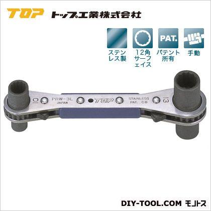 ラクラッチ(ロング4サイズ板ラチェットレンチ)   PRW-3L