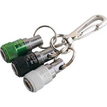 携帯用ソケットホルダー3色セット(黒×緑×白)   ESH-BKGWN