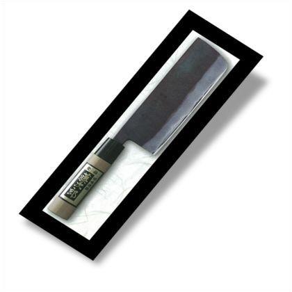 黒打砥出し菜切包丁 165mm (F-699)