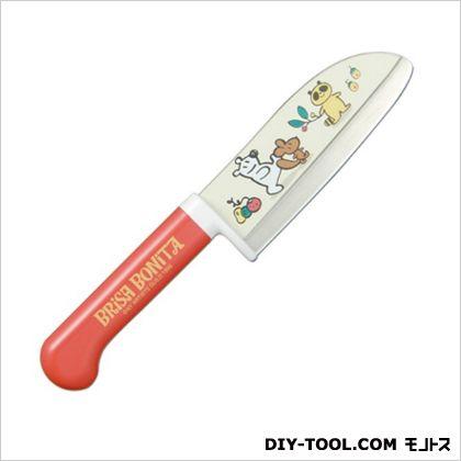 藤次郎(Tojiro) 子供用クッキングナイフ レッド 115mm BB-3