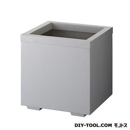 FRPプランター (角) シルキーグレー W400×D400×H420 HC-440-SGR  個