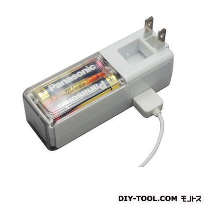 コンセント+乾電池スマートフォン用 (M4019)
